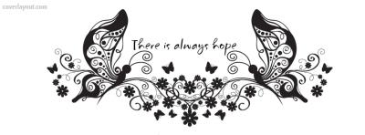 Hopeful butterfly