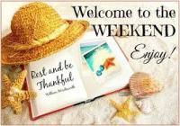 Welcome Weekend 2