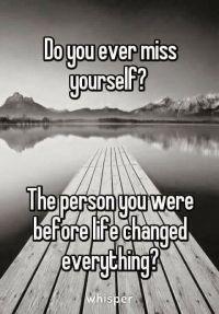 miss myself