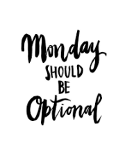 Optional Monday