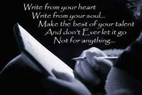 writing is my passion