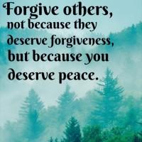 forgive for peace