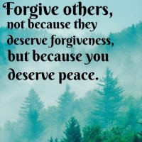 forgive for peace