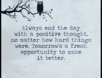End day positive