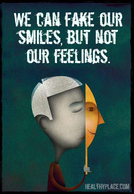fake our smile