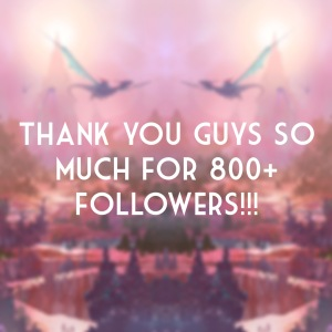 800+ Followers