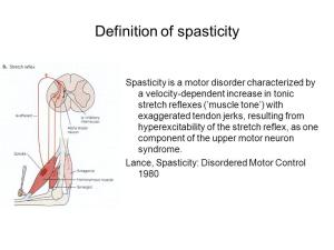 Definition+of+spasticity