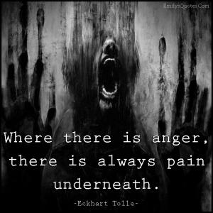 EmilysQuotes.Com-anger-pain-negative-sad-Eckhart-Tolle