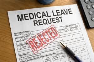fmla rejected
