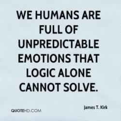 human logic and emotion