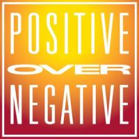 positive over negative