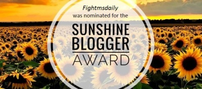 sunshine-blogger-award 2018