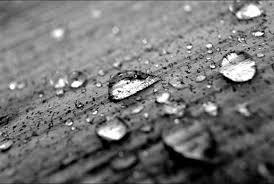 B&W Rain Drop