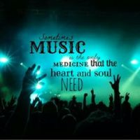 music is my medicine