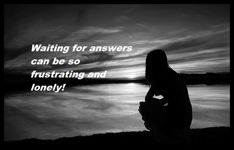 waiting for answers