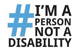 hashtag person not disability