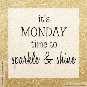 sparkle and shine monday