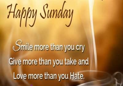 Sunday-Quote