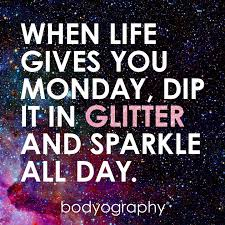 make monday sparkle