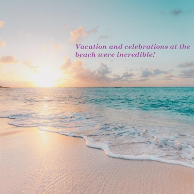 vacation and celebration