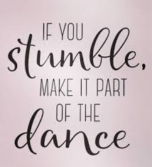 make it part of the dance