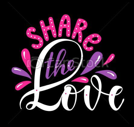share-the-love-eps-vector_csp59691544
