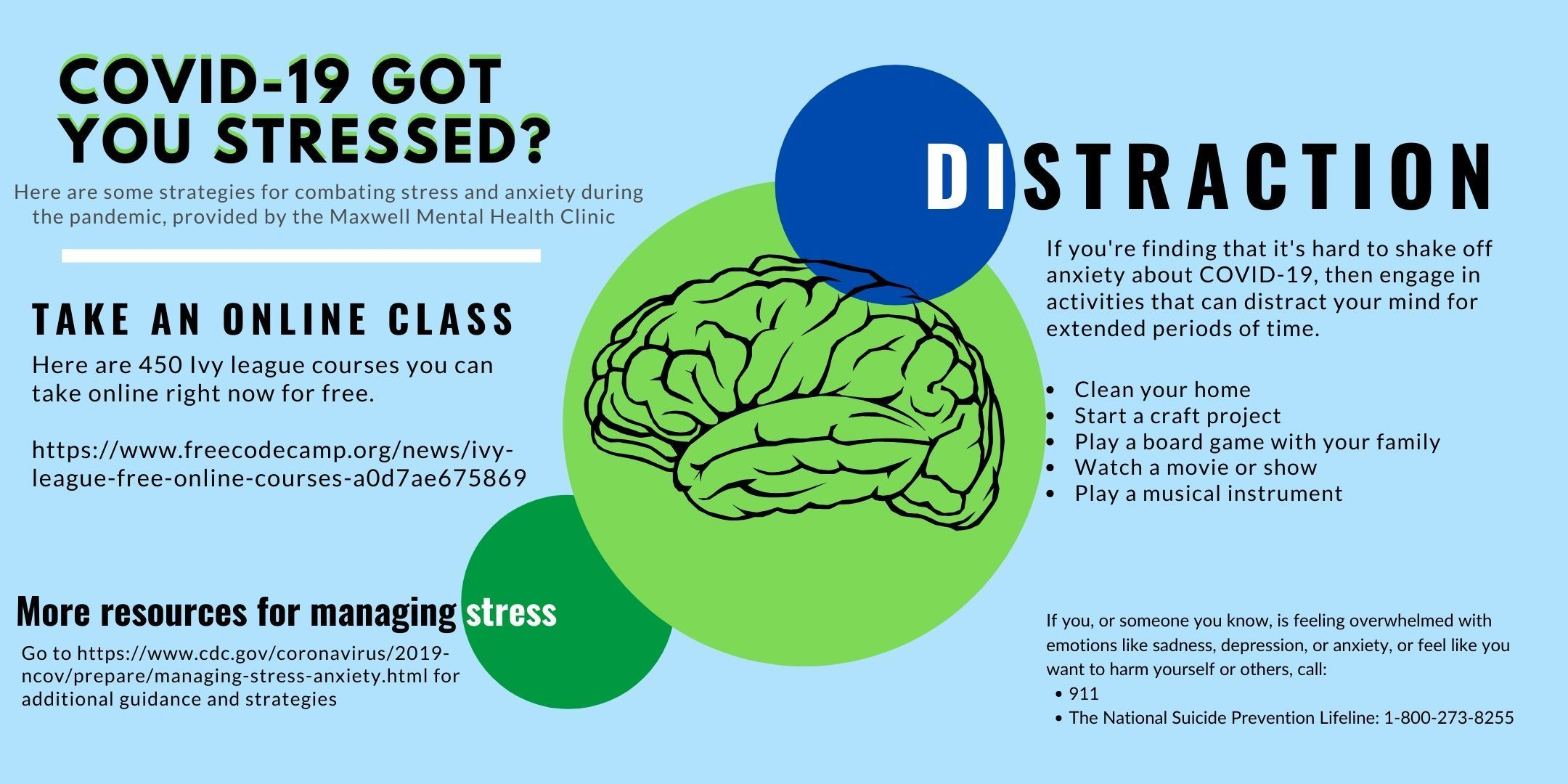 COVID-19 Got You Stressed? Tips for managing stress during a pandemic