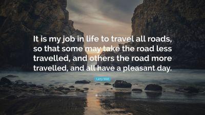 less travel