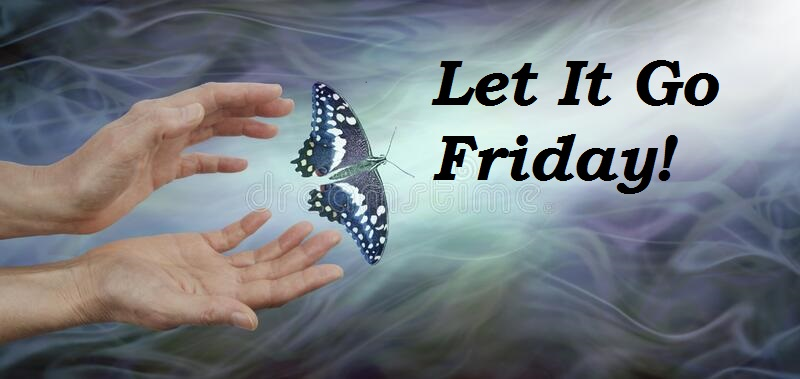 Let It Go Friday Butterfly